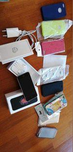 Iphone SE com acessórios impecável foto 1