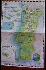 Mapa de Portugal e da União Europeia foto 1