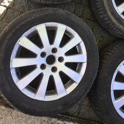 "Jantes 16"" 5x112 originais vw passat sharan caddy foto 1"