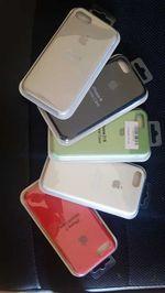 Bolsa silicone original iphone 7 e 8 foto 1