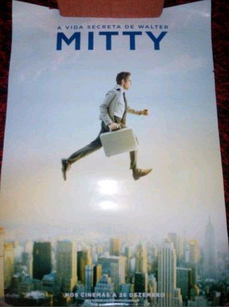 """Poster """"A Vida Secreta de Walter Mitty"""" foto 1"""