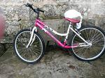 Bicicleta rosa foto 1
