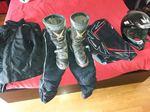 As botas para andar de mota foto 1
