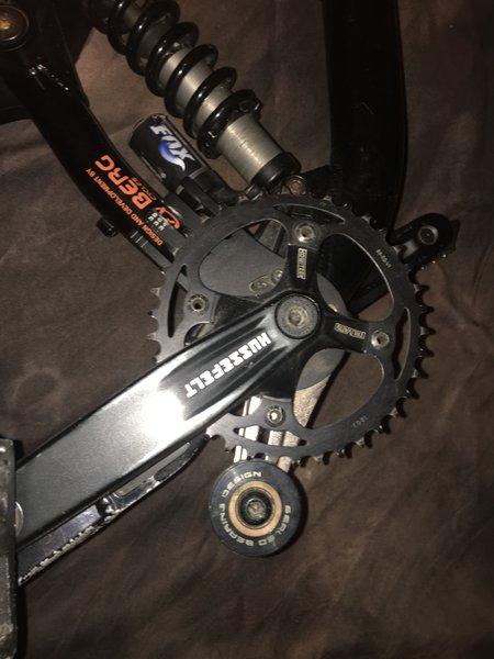 Quadro de bicicleta de downhill foto 1