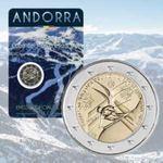 Moeda 2 euros Andorra 2019 foto 1