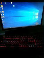 PC gamer + monitor + teclado foto 1