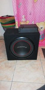 SubwooFer+amplificador 120€ 927980540 em mafra foto 1