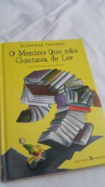 """Livro """"O menino que não gostava de ler"""" foto 1"""