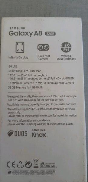Samsung galaxy a8 2018 fatura e garantia foto 1